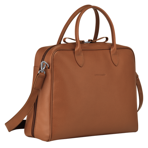 Briefcase M, Caramel, hi-res - View 2 of 3