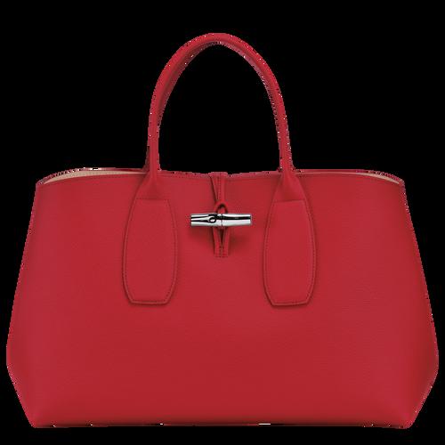View 1 of Top handle bag L, Red, hi-res