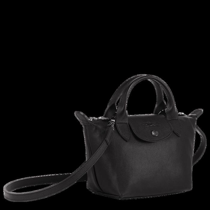 Handtasche XS, Schwarz/Ebenholz - Ansicht 2 von 6 - Zoom vergrößern