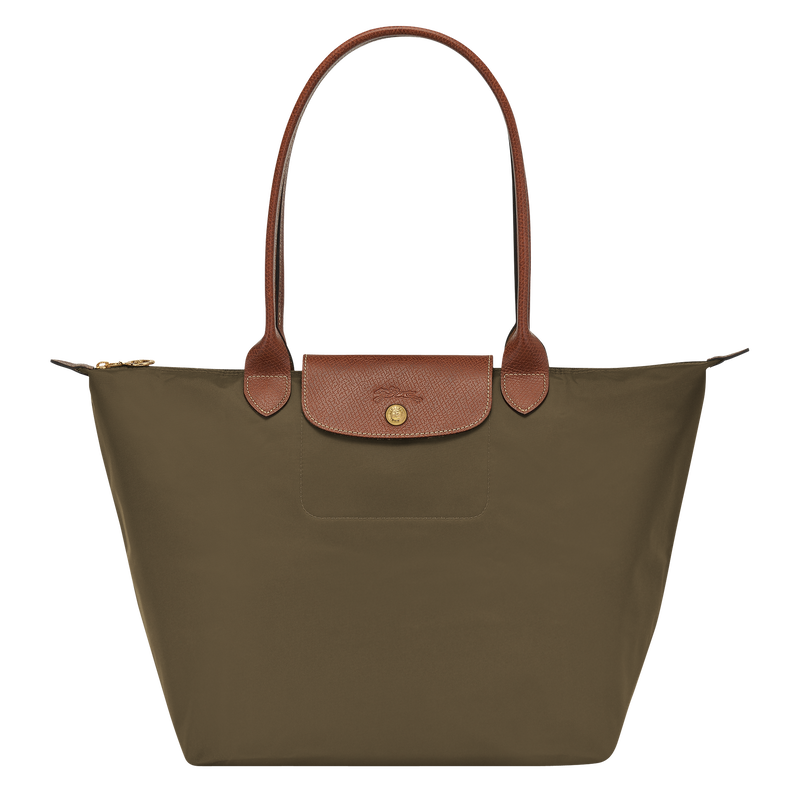 Shoulder bag L, Khaki - View 1 of  4 - zoom in
