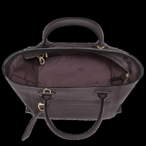 Top handle bag M, Aubergine - View 4 of  4 -