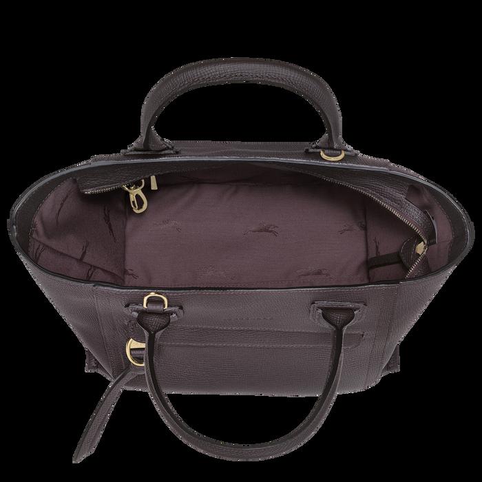 Top handle bag M, Aubergine - View 4 of  4 - zoom in