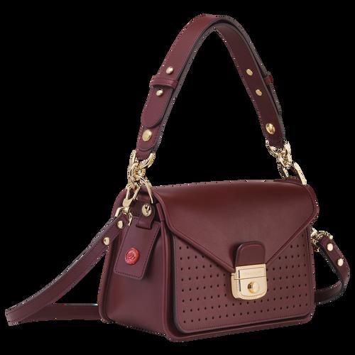 Mademoiselle Longchamp Crossbody bag S, Burgundy