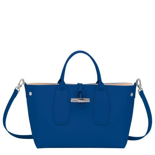 Top handle bag M, Blue - View 2 of  4 -