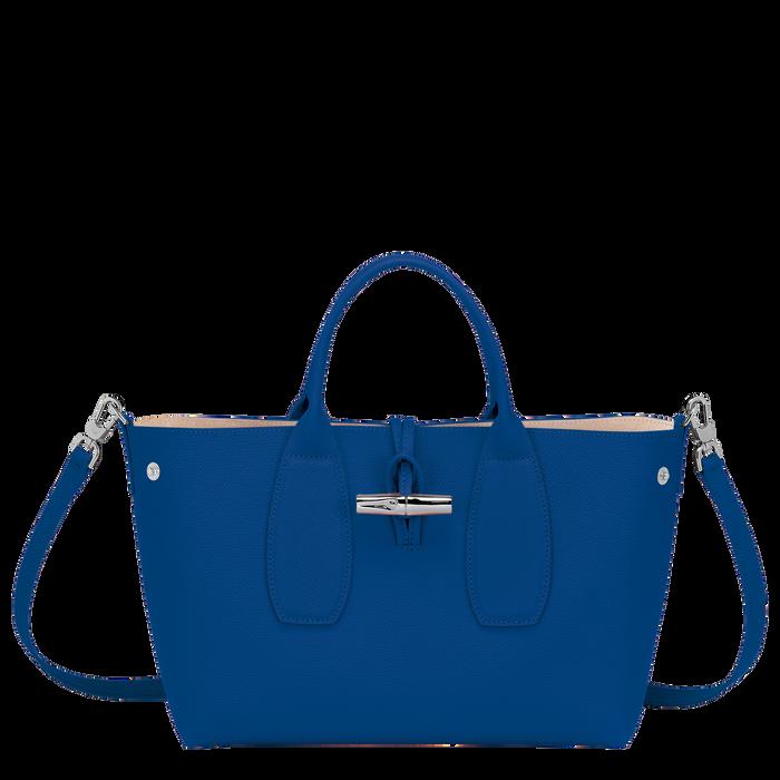 Top handle bag M, Blue - View 2 of  4 - zoom in