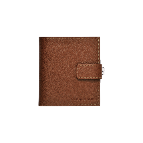 Compacte portefeuille, 504 Cognac, hi-res