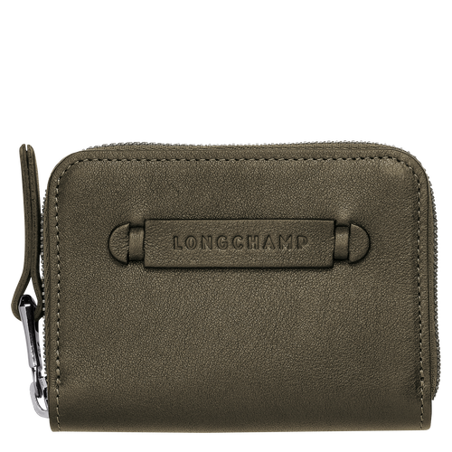 View 1 of Card holder, Khaki, hi-res