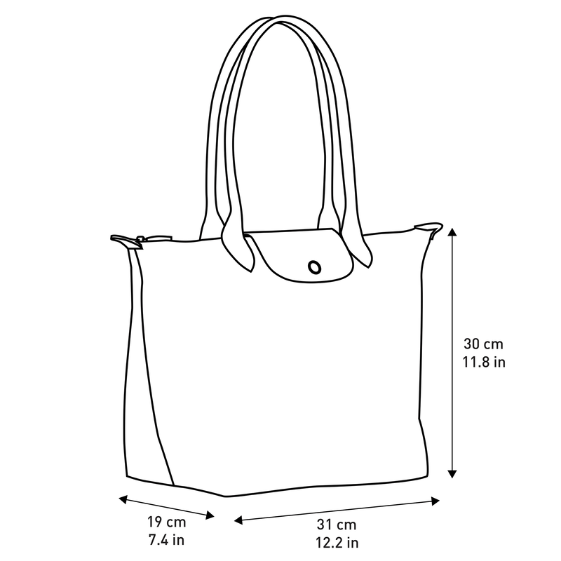 Shoulder bag L, Black/Ebony - View 5 of  5 - zoom in