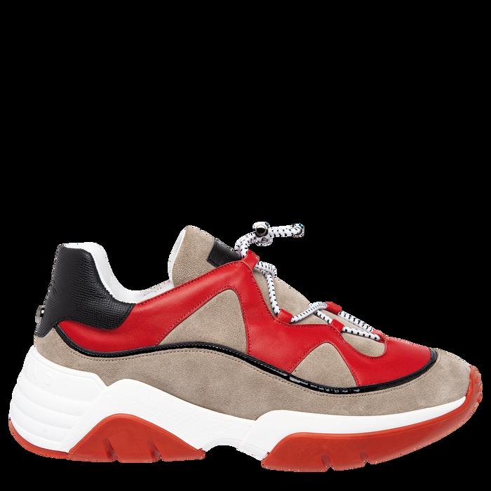 Sneaker, Mohnblumenrot - Ansicht 1 von 5 - Zoom vergrößern