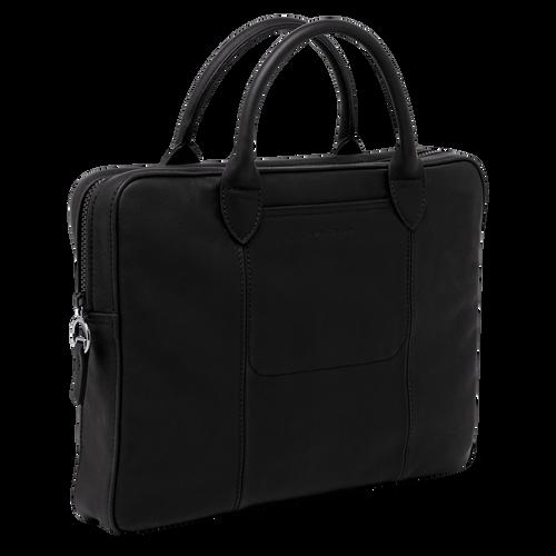 Briefcase, Black/Ebony - View 2 of 3 -