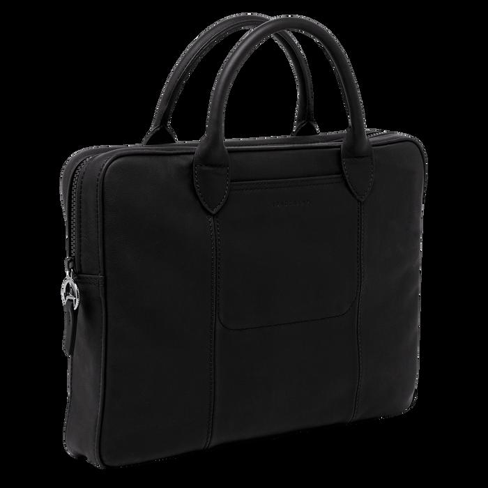 Briefcase, Black/Ebony - View 2 of 3 - zoom in