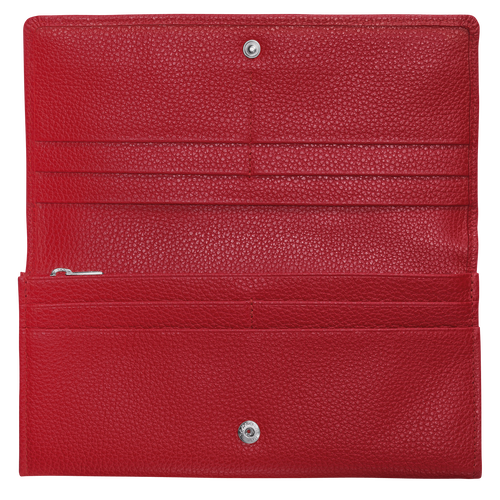 Cartera continental grande, Rojo, hi-res - View 2 of 2