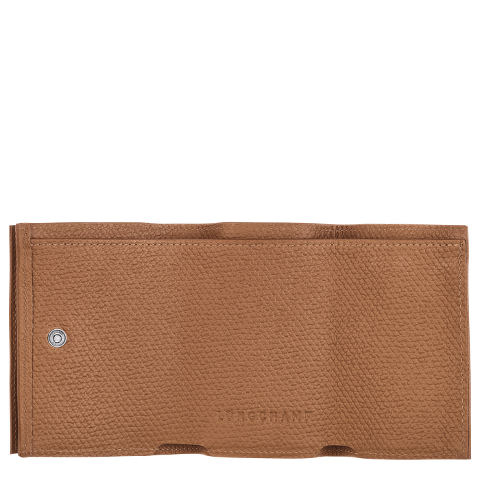 小型錢包, 黃褐色 - 查看 2 2 - 放大