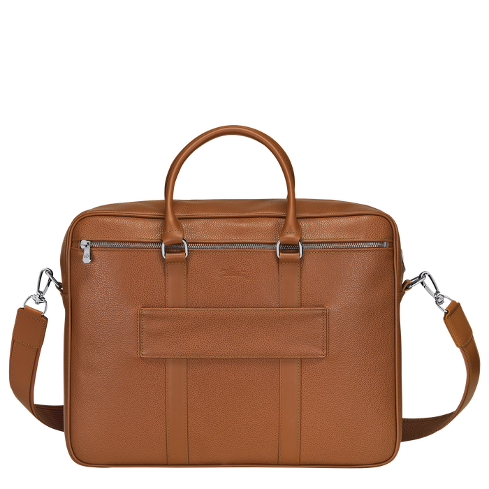 Briefcase M, Caramel - View 3 of 3 - zoom in
