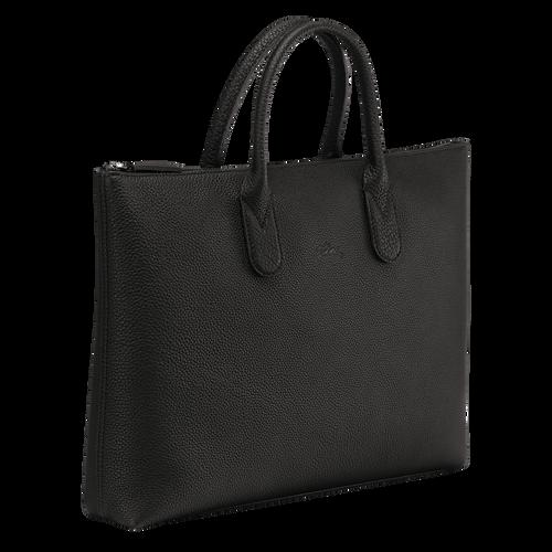 Briefcase S, Black/Ebony - View 2 of  3 -