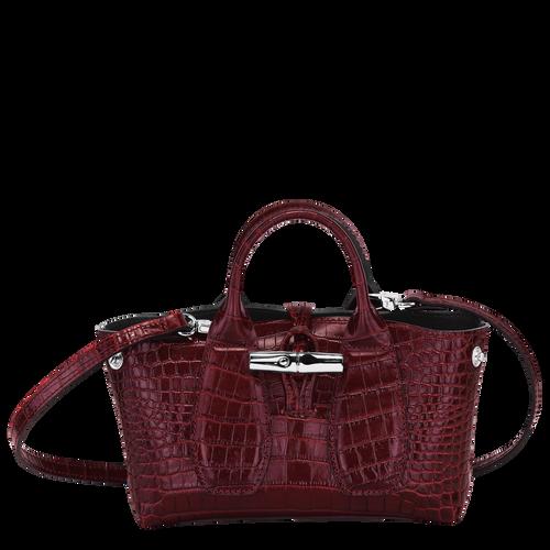 Roseau Top handle bag XS, Burgundy