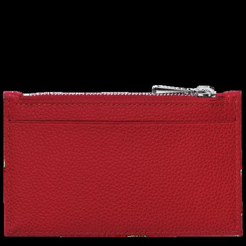 Le Foulonné Coin purse, Red