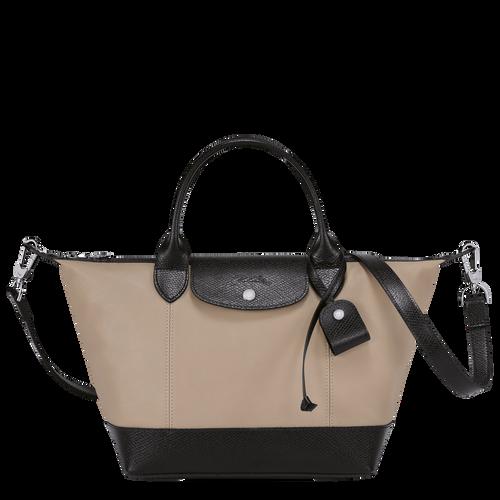 Top handle bag S Le Pliage Cuir Greige (L1512HVA484) | Longchamp US