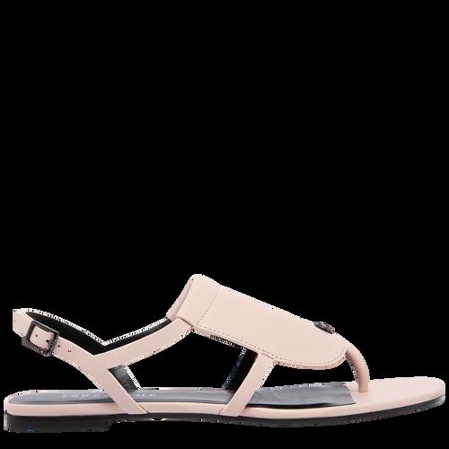 Sandales plates, Rose Pâle - Vue 1 de 6 -