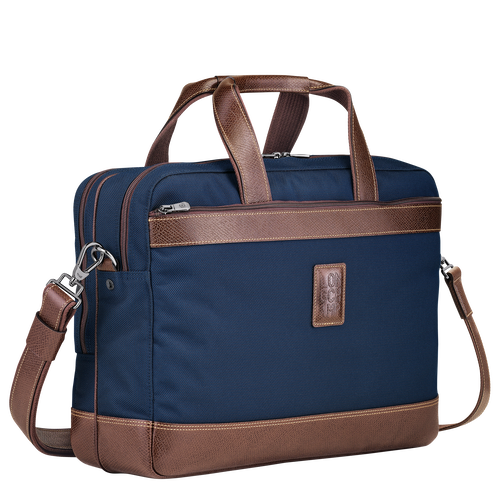 Briefcase L, Blue, hi-res - View 2 of 3