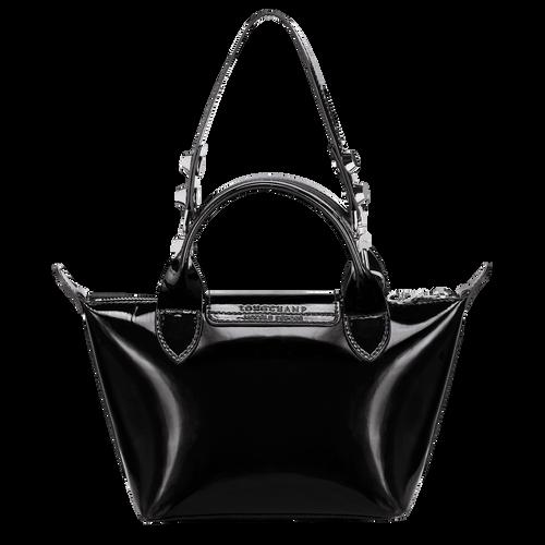 Top handle bag XS, Black/Ebony - View 3 of  3 -