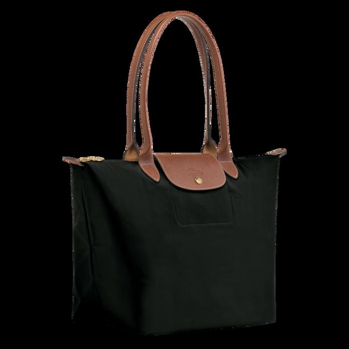 Shoulder bag L, Black/Ebony - View 2 of  4 - zoom in