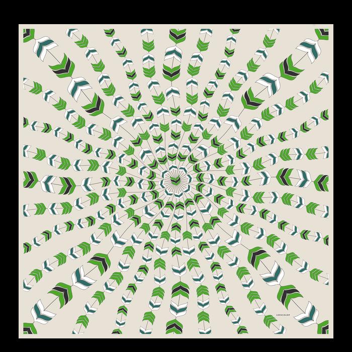 Ladies' stole, Green havana - View 1 of  1 - zoom in
