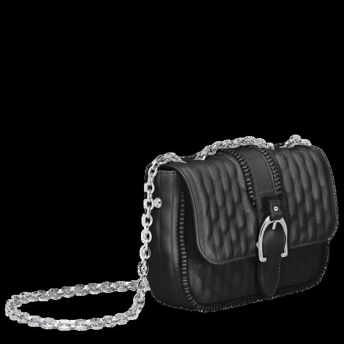 Crossbody bag XS, Black/Ebony - View 2 of  3 - zoom in