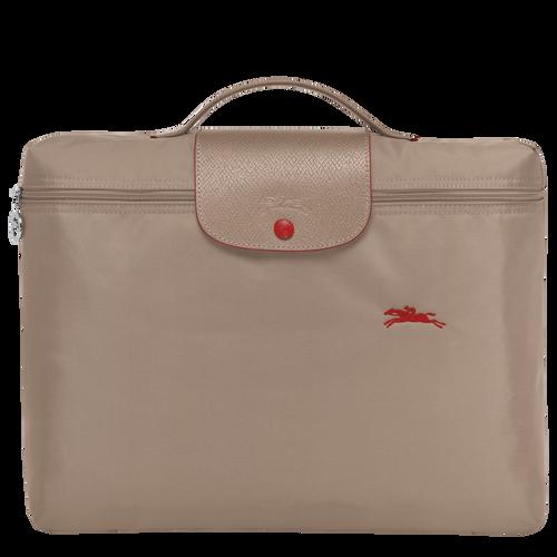 Le Pliage Club Briefcase S, Brown