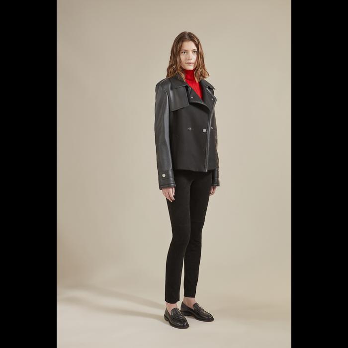 2021 秋冬系列 大衣, 黑色