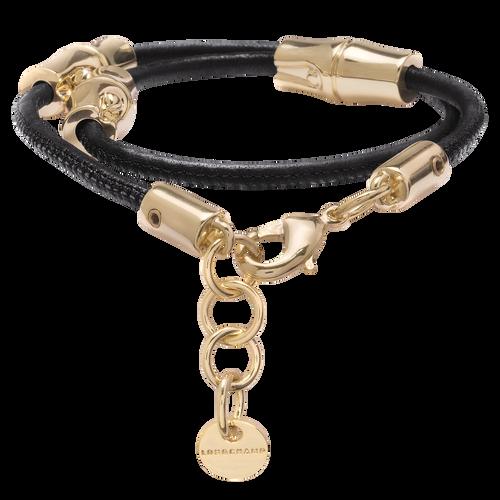 Vue 1 de Bracelet transformable collier, Noir, hi-res