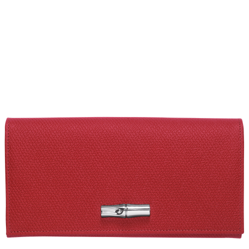 Continental wallet, Red, hi-res - View 1 of 2