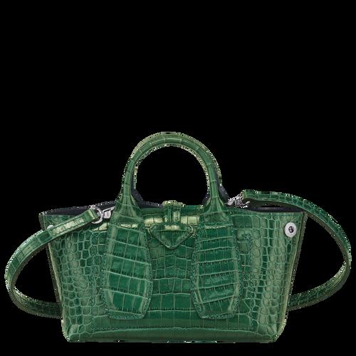 Top handle bag XS, Green havana - View 4 of  4 -