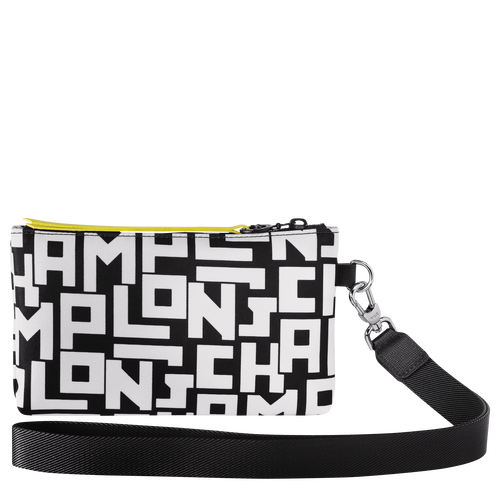 Pouch, Black/White - View 3 of  3 -