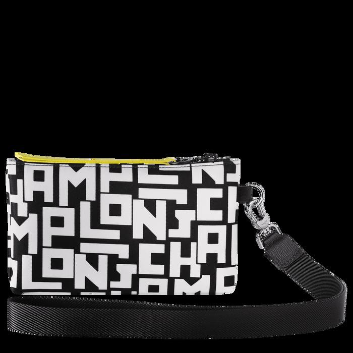 Le Pliage LGP Pouch, Black/White
