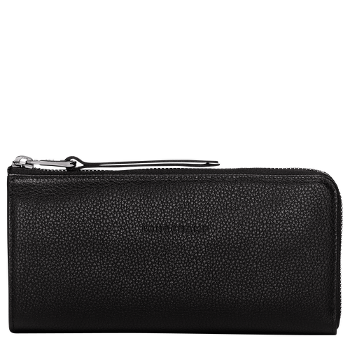 View 1 of Zip around wallet, Black, hi-res