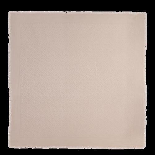 View 1 of 披巾, Chalk, hi-res