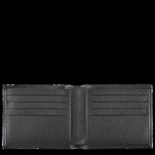 Le Foulonné Wallet, Black