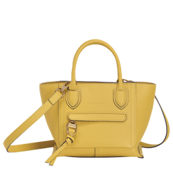 Top handle bag S, Yellow