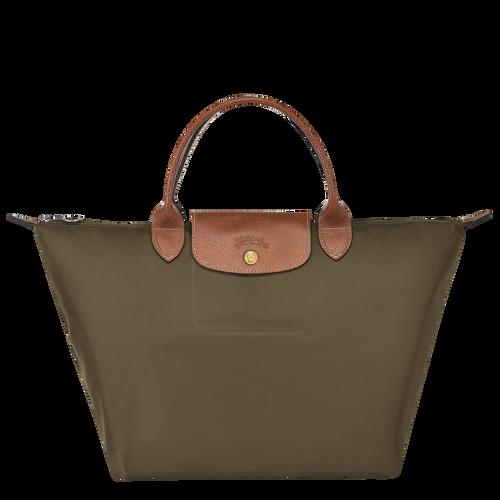 Top handle bag M, Khaki, hi-res - View 1 of 4
