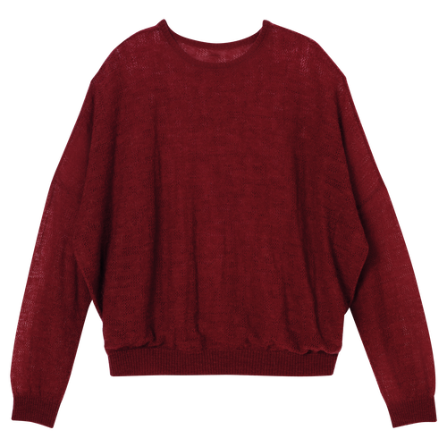 View 1 of Pullover, Rot, hi-res