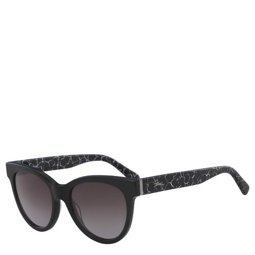 Zonnebrillen, D00 Gemarmerd zwart, hi-res