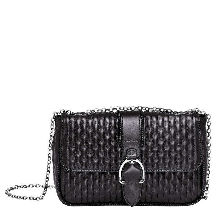 Crossbody bag M, Black/Ebony - View 1 of 3 - zoom in