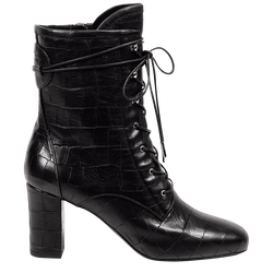 High-Heel ANKLE BOOTS, 001 Black, hi-res
