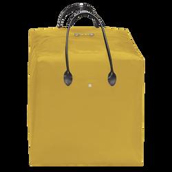 Top-handle bag L, E54 Yellow/Black, hi-res