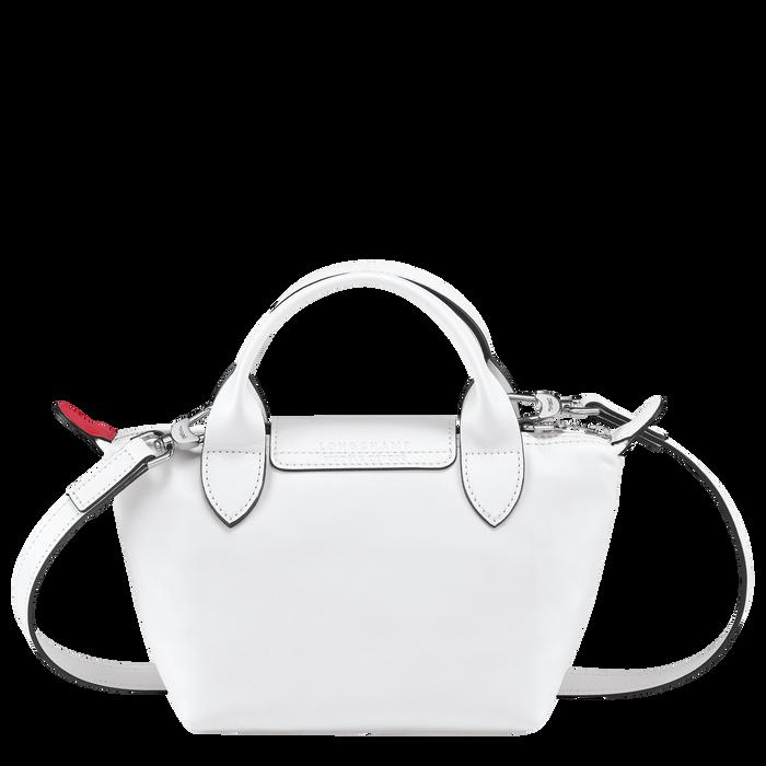 トップハンドルバッグ XS, ホワイト - ビュー 3: 3 - 拡大