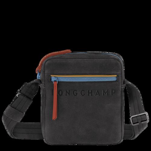 Longchamp 3D Crossbody bag S, Gun metal