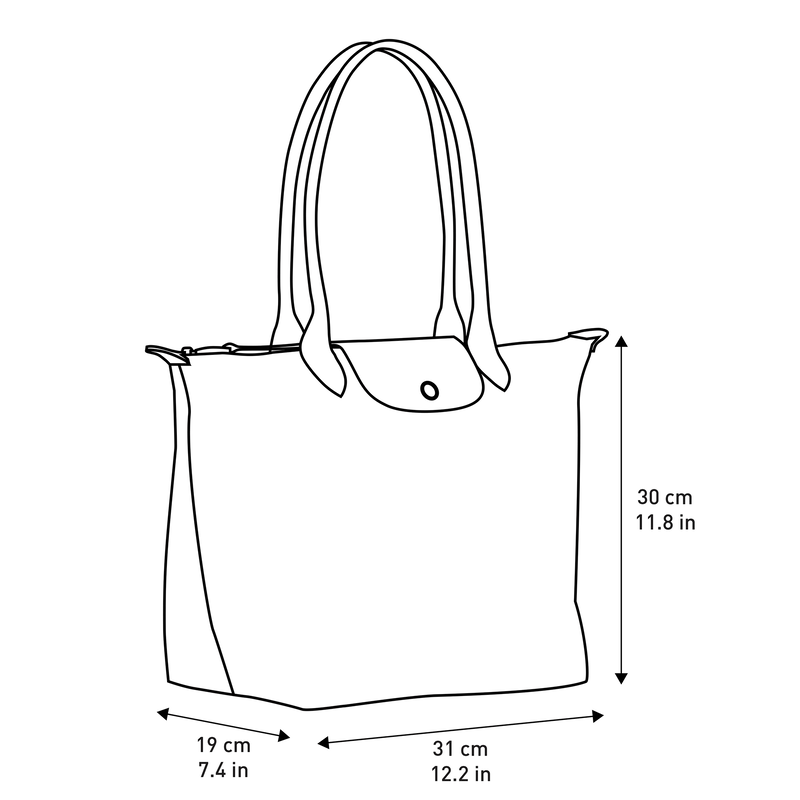 Shoulder bag L, Navy - View 5 of  5 - zoom in