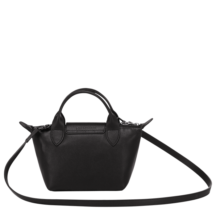 Top handle bag XS, Black/Ebony - View 3 of  4 - zoom in