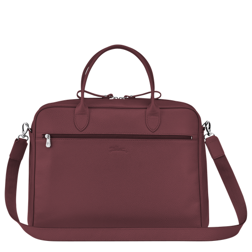 Briefcase M, Mahogany - View 3 of 3 -